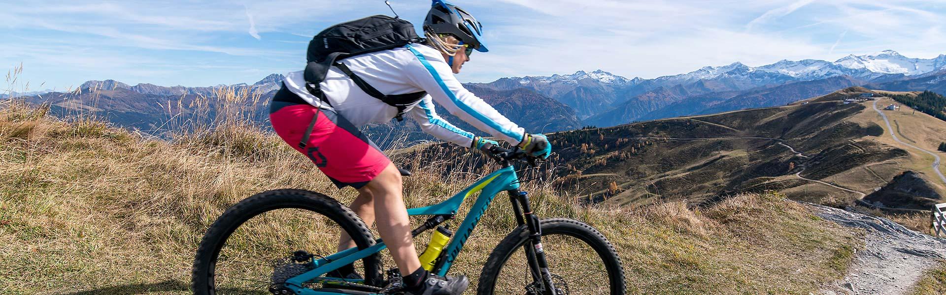Mountainbiken im Gasteiner Tal